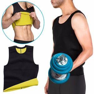 Men Sweat Vest Weight Loss Body Shaper Tank Top